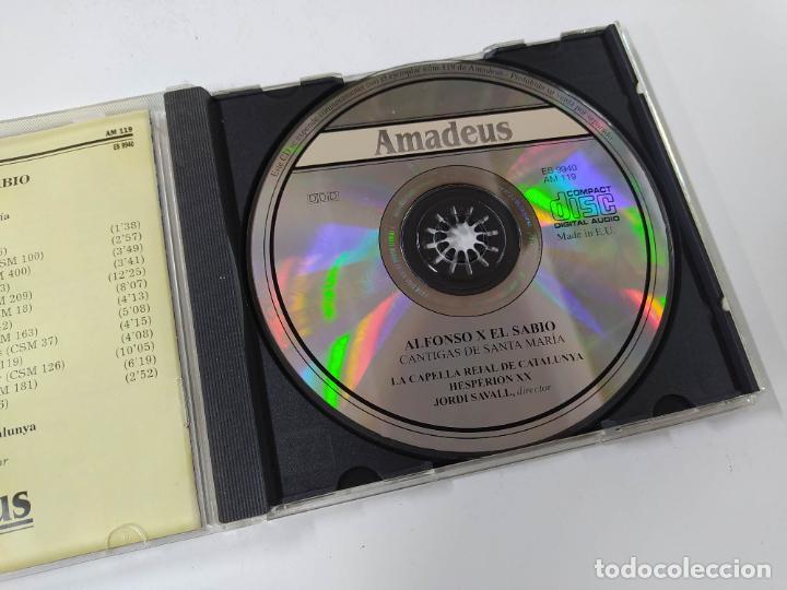 CDs de Música: CANTIGAS DE SANTA MARIA. LA CAPELLA REIAL DE CATALUNYA. JORDI SAVALL. AMADEUS. CD. TDKCD85 - Foto 2 - 289884378