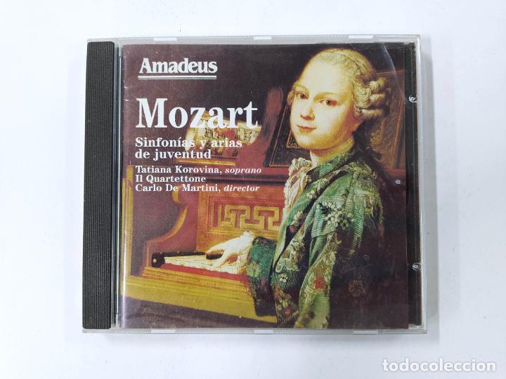 MOZART. SINFONIAS Y ARIAS DE JUVENTUD. TATIANA KOROVINA, CARLO DE MARTINI. AMADEUS CD. TDKCD85 (Música - CD's Clásica, Ópera, Zarzuela y Marchas)