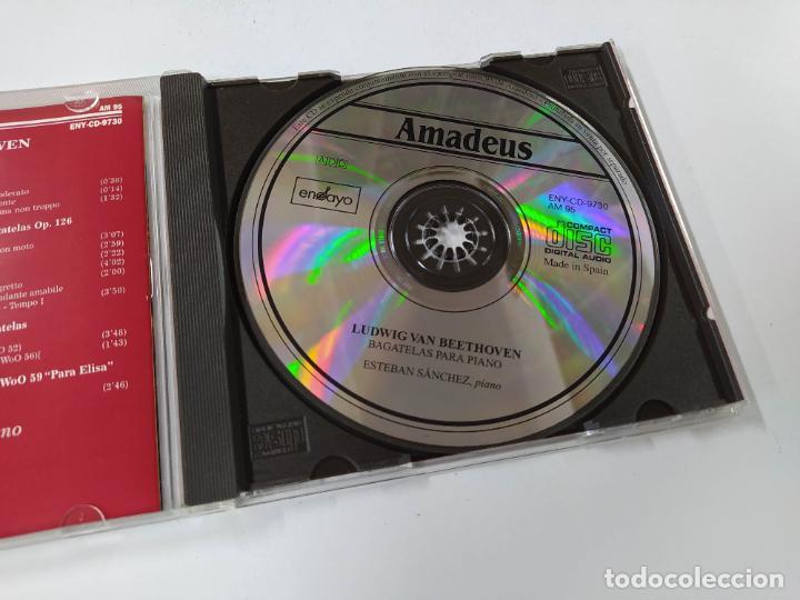 CDs de Música: BEETHOVEN. BAGATELAS PARA PIANO, ESTEBAN MANCHES PIANO. AMADEUS. CD. TDKCD85 - Foto 2 - 289885303