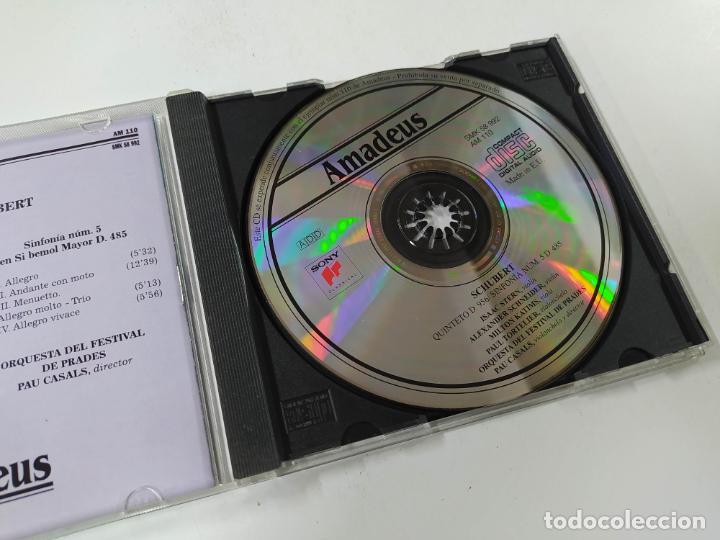 CDs de Música: SCHUBERT. QUINTETO EN DO MAYOR D. 956. ORQUESTA DEL FESTIVAL DE PRADES. CD. AMADEUS TDKCD85 - Foto 2 - 289885488