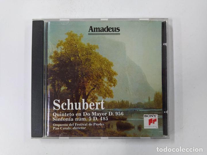 SCHUBERT. QUINTETO EN DO MAYOR D. 956. ORQUESTA DEL FESTIVAL DE PRADES. CD. AMADEUS TDKCD85 (Música - CD's Clásica, Ópera, Zarzuela y Marchas)