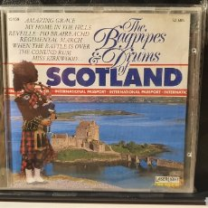 CDs de Música: CD/ THE BAGPIPES & DRUMS OF SCOTLAND/ (REF.A.16). Lote 289886788