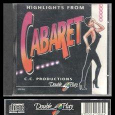 CDs de Música: D. CD. CABARET.. Lote 289886978