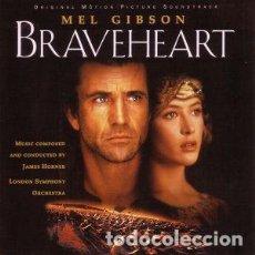CDs de Música: JAMES HORNER - BRAVEHEART - CD. Lote 289887053
