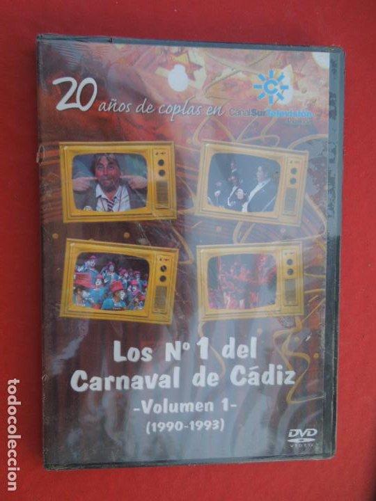 LOS Nº 1 DEL CARNAVAL DE CADIZ VOLUMEN 1- 1990-1993- DVD PRECINTADO VER CARATULA PARA EL CONTENIDO (Música - CD's Flamenco, Canción española y Cuplé)