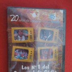 CDs de Música: LOS Nº 1 DEL CARNAVAL DE CADIZ VOLUMEN 1- 1990-1993- DVD PRECINTADO VER CARATULA PARA EL CONTENIDO. Lote 289891468