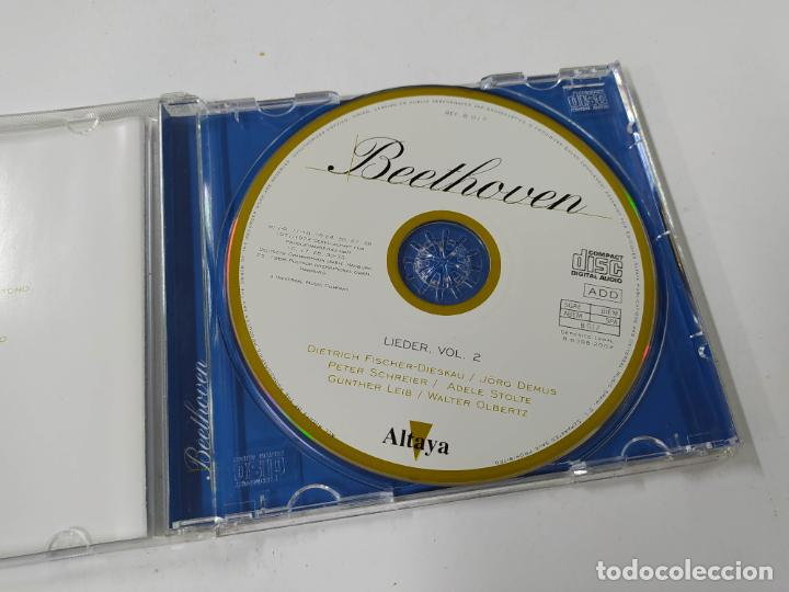 CDs de Música: TODO BEETHOVEN. LIEDER VOL. 2. CD. ALTAYA. TDKCD86 - Foto 2 - 289893798