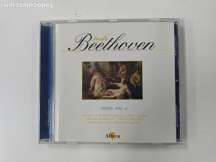 TODO BEETHOVEN. LIEDER VOL. 2. CD. ALTAYA. TDKCD86 (Música - CD's Clásica, Ópera, Zarzuela y Marchas)