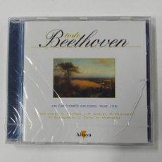 CDs de Música: TODO BEETHOVEN. 26 CANCIONES GALESAS. CD. NUEVO. ALTAYA. TDKCD86. Lote 289894143