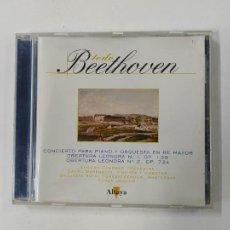 CDs de Música: TODO BEETHOVEN. CONCIERTO PARA PIANO Y ORQUESTA EN RE MAYOR. EUGEN JOCHUM. CD TDKCD86. Lote 289895663
