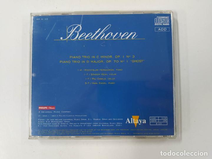 CDs de Música: TODO BEETHOVEN. TRIO PARA VIOLIN, PIANO Y VIOLONCHELO Nº 3. CD TDKCD86 - Foto 3 - 289895853