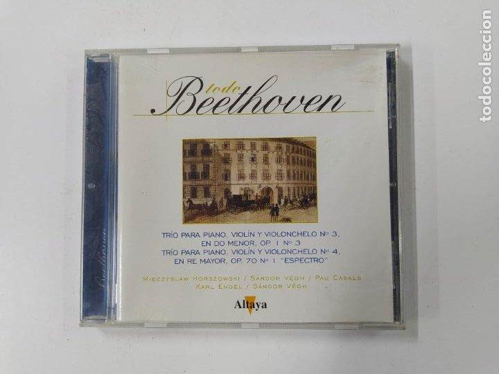 TODO BEETHOVEN. TRIO PARA VIOLIN, PIANO Y VIOLONCHELO Nº 3. CD TDKCD86 (Música - CD's Clásica, Ópera, Zarzuela y Marchas)