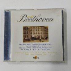 CDs de Música: TODO BEETHOVEN. TRIO PARA VIOLIN, PIANO Y VIOLONCHELO Nº 3. CD TDKCD86. Lote 289895853