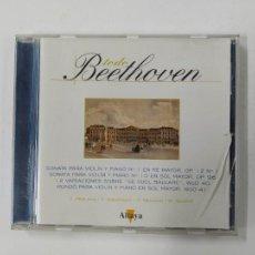 CDs de Música: TODO BEETHOVEN. SONATA PARA VIOLIN Y PIANO Nº 1 EN RE MAYOR. I. PERLMAN. CD TDKCD86. Lote 289896308