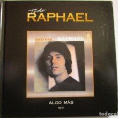 CDs de Música: CD RAPHAEL LIBRO ALGO MAS ... RAPHAEL LOS AMANTES , ISRAEL , ROMANTICA MOSCU , ME ENAMORE COMO NUNC. Lote 289896968
