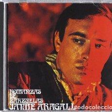 CDs de Música: JAUME ARAGALL - ROMANZAS DE ZARZUELAS. Lote 289910793