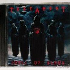 CDs de Música: TESTAMENT - SOULS OF BLACK CD NUEVO Y PRECINTADO - THRASH METAL. Lote 289945648