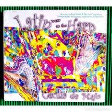 CDs de Música: CECILIA DE MAJO / CLASSIC HARP - LATIN MUSIC ON THE HARP, CD.. Lote 289945828