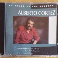 CDs de Música: ALBERTO CORTEZ (SERIE LO MEJOR DE LOS MEJORES) CD 1993. Lote 290011448