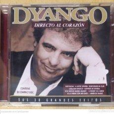 CDs de Música: DYANGO (DIRECTO AL CORAZON - SUS 30 GRANDES EXITOS) 2 CD'S 2010. Lote 290014373