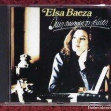 CDs de Música: ELSA BAEZA (MIS MOMENTOS FELICES) CD 1990. Lote 290014733