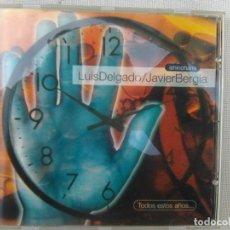 CDs de Música: ISHINOHANA II (JAVIER BERGIA Y LUIS DELGADO) - TODOS ESTOS AÑOS (SONIFOLK, 1995). Lote 290022123