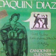 CDs de Música: ¡ CURIOSIDAD FIRMADA !- JOAQUÍN DÍAZ - CANCIONES Y CUENTOS TRADICIONALES (SAUSALITO, 2000). Lote 290023068