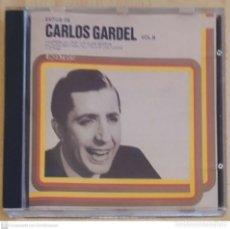 CDs de Música: CARLOS GARDEL (EXITOS DE CARLOS GARDEL VOL. II) CD 1990. Lote 290038548