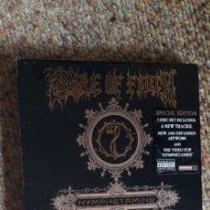 CD de Música: CRADLE OF FILTH , NYMPHETAMINE , 2XCD 2005 DIGIPACK SPECIAL EDITION, LEVES SEÑALES DE USO. Lote 290043393