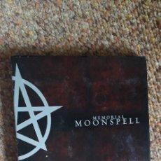 CDs de Música: MOONSPELL , MEMORIAL , CD 2006 DIGIPACK , CON LEVES SEÑALES DE USO. GOTHIC METAL. Lote 290056803