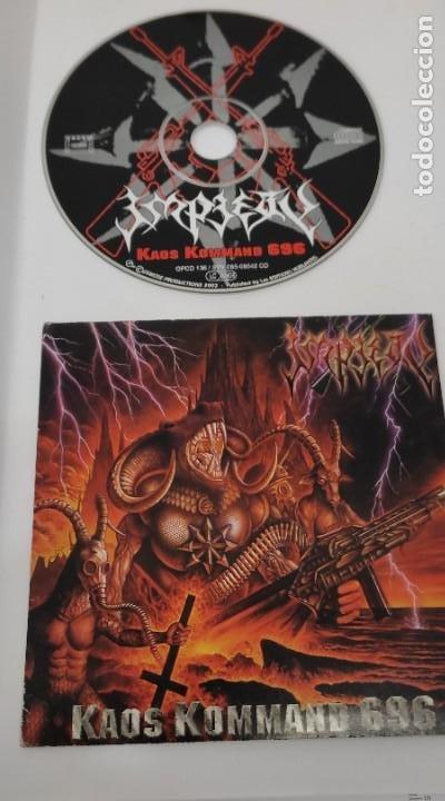 CD MUSICA METAL - IMPIETY - KAOS KOMMAND 696 - MAXI SINGLE (Música - CD's Heavy Metal)