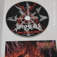 CDs de Música: CD MUSICA METAL - IMPIETY - KAOS KOMMAND 696 - MAXI SINGLE. Lote 290089908