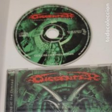 CDs de Música: CD MUSICA METAL - DISSENTER - APOCALIYPSE OF THE DAMNED. Lote 290090303