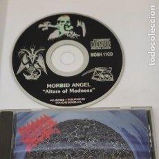 CDs de Música: CD MUSICA METAL - MORBID ANGEL - ALTARS OF MADNESS. Lote 290090678