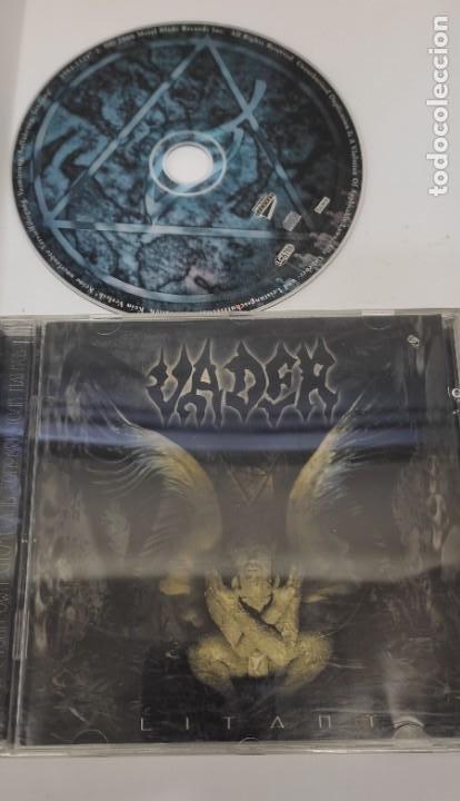 CD MUSICA METAL - VADER LITANY - METAL BLADE (Música - CD's Heavy Metal)