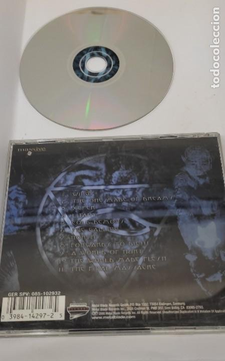 CDs de Música: CD MUSICA METAL - VADER LITANY - METAL BLADE - Foto 2 - 290090873