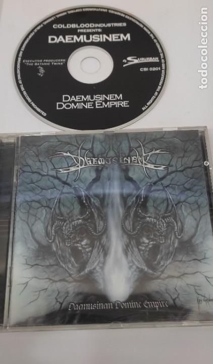 CD MUSICA METAL - DAEMUSINEM - DOMINE EMPIRE (Música - CD's Heavy Metal)