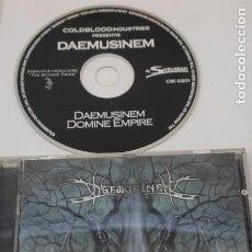 CDs de Música: CD MUSICA METAL - DAEMUSINEM - DOMINE EMPIRE. Lote 290091468
