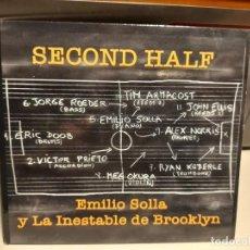 CDs de Música: CD JAZZ : EMILIO SOLLA Y LA INESTABLE DE BROOKLYN : SECOND HALF. Lote 290094278