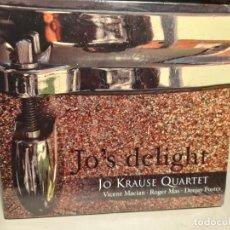 CDs de Música: CD JAZZ : JO KRAUSE QUARTET : JO´S DELIGHT. Lote 290094703