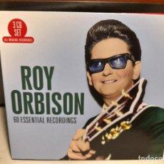 CDs de Música: TRIPLE CD : ROY ORBISON - 60 ESSENTIAL RECORDINGS. Lote 290095258