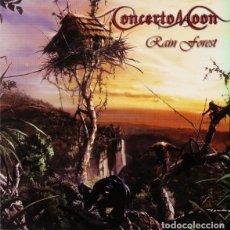 CDs de Música: CONCERTO MOON -RAIN FOREST CD 2000 METAL. Lote 290113638