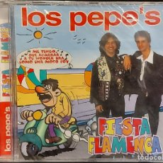 CDs de Música: LOS PEPE'S / FIESTA FLAMENCA / CD - MAX MUSIC / 12 TEMAS / PRECINTADO. Lote 290280783
