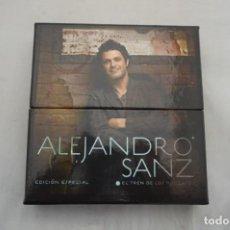 CDs de Música: BOX 2 CDS + DVD - ALEJANDRO SANZ - EDICION ESPECIAL - EL TREN DE LOS MOMENTOS. Lote 290925688