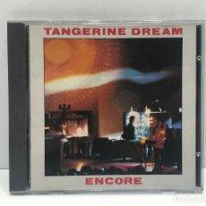 CDs de Música: TANGERINE DREAM - ENCORE. Lote 291148538