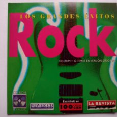 CDs de Música: LOS GRANDES EXITOS CD-ROM Nº 1 ROCK - 1997 - CD DE LA REVISTA DE EL MUNDO. Lote 291305623