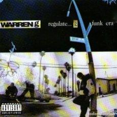 CDs de Música: WARREN G - REGULATE... G FUNK ERA - CD ALBUM - 12 TRACKS - VIOLATOR / RUSH / ISLAND RECORDS - 1994. Lote 291509288