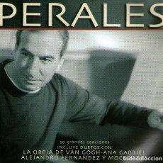 CDs de Música: DOBLE CD ALBUM: PERALES - 30 GRANDES CANCIONES - COLUMBIA / SONY MUSIC - AÑO 2001.. Lote 291511713