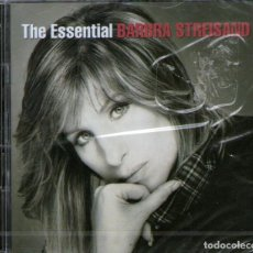 CDs de Música: DOBLE CD ALBUM: BARBRA STREISAND - THE ESSENTIAL BARBRA STREISAND - 40 TRACKS - SONY MUSIC 2002. Lote 291513723