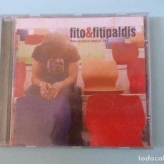 """CDs de Música: CD """" POR LA BOCA VIVE EL PEZ """" FITO & FITIPALDIS DRO ATLANTIC A WARNER MUSIC GROUP COMPANY 2006. Lote 291833338"""